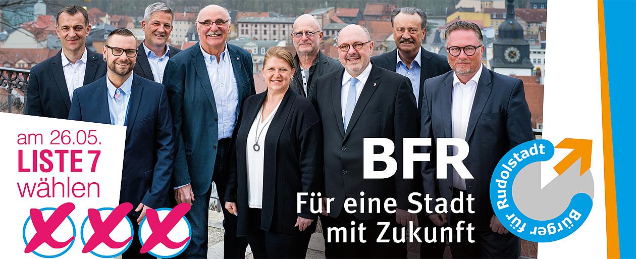 Bürger für Rudolstadt zur Stadtratswahl 2019 wählen!
